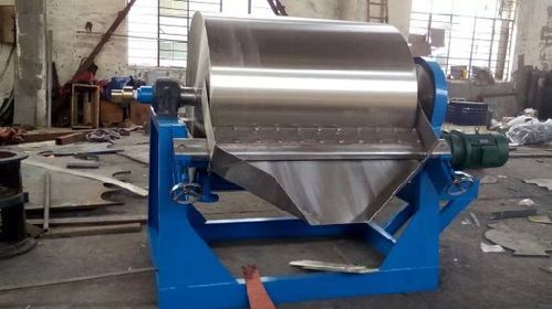 rotary type cooling drum flaker