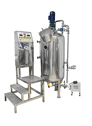 syrup making mixing machine